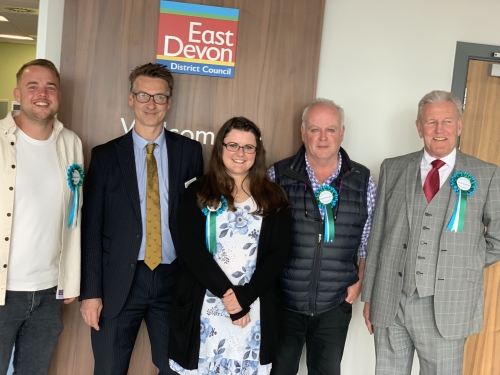 East Devon Alliance EDDC Election Win